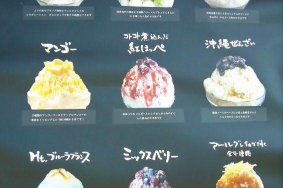 かき氷専門店🍧